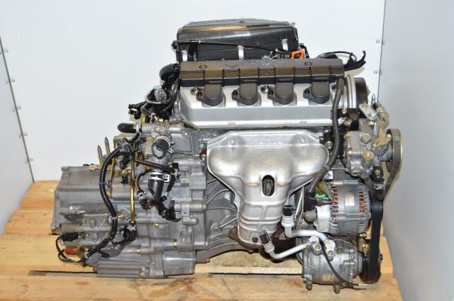 Used Honda Civic 2001-2005 1.7L Vtec Engine Swap For Sale with Automatic SLXA JDM Transmission