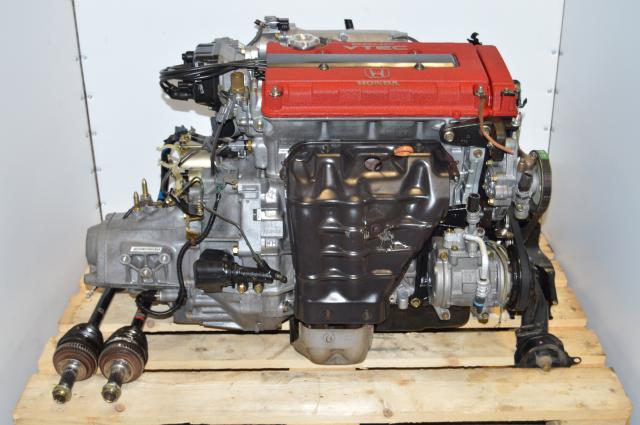 Integra B18C Type-R Engine Complete Package, JDM DC2 OBD2A Civic Motor & S80 LSD Manual Transmission