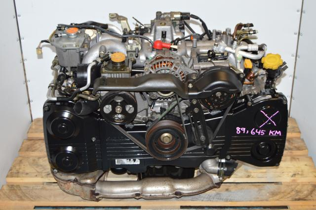 JDM Impreza WRX 2002-2005 EJ20 EJ205  2.0L Turbo DOHC Replacement Engine Swap For Sale
