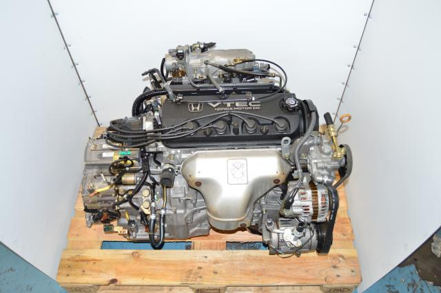 Used Honda Accord F23A 2.3L Vtec Engines BAXA MAXA Transmission CG1 CG5  F23A1 1998 - 2002
