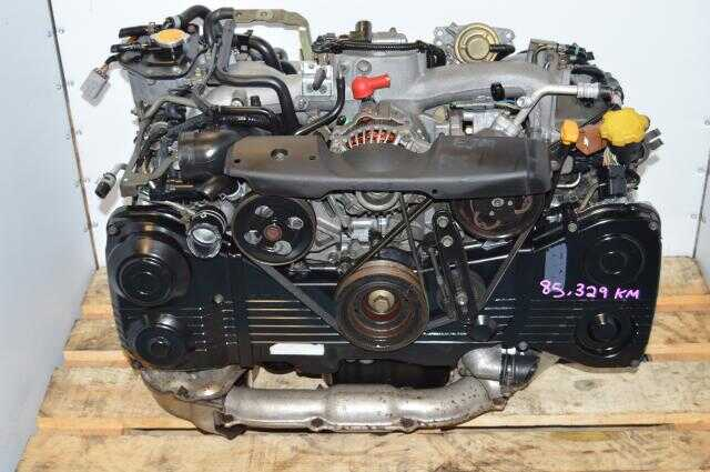 JDM Subaru 2002-2005 WRX 2.0L EJ205 TD04 Turbo Replacement Engine with AVCS For Sale EJ20