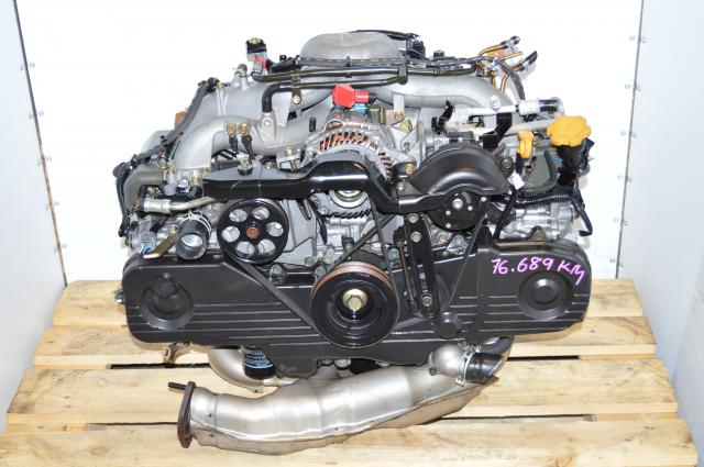 Low mileage Subaru Impreza Replacement Motor EJ203 2.0L Swap For EJ253 2.5L Engine For Sale Japanese Spec