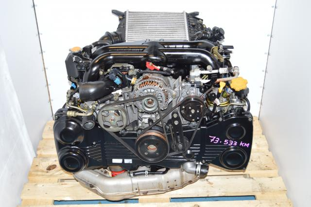 JDM Subaru Legacy 04-05 EJ20Y TD04 Twin Scroll Quad Cam Engine with AVCS & Intercooler  For Sale