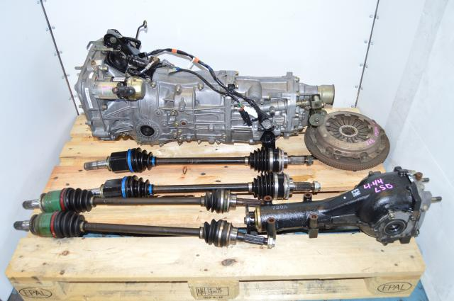 Used Subaru JDM 5 Speed Transmission Replacement Swap For Sale With LSD Rear 4.444 Differential
