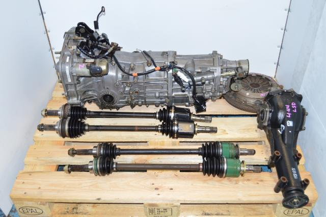 JDM 5 Speed MT WRX 2002-2005 Transmission Swap For Sale, 4.444 LSD Rear Diff & Axles