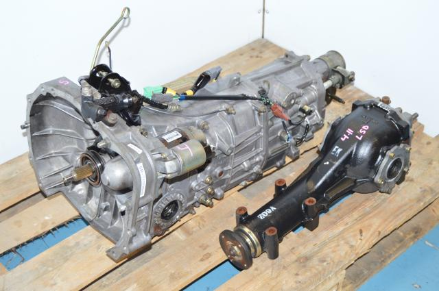 USDM 2005 Legacy GT 2.5L 5 Speed Manual Transmission Replacement for Sale with 4.11 Rear Differential
