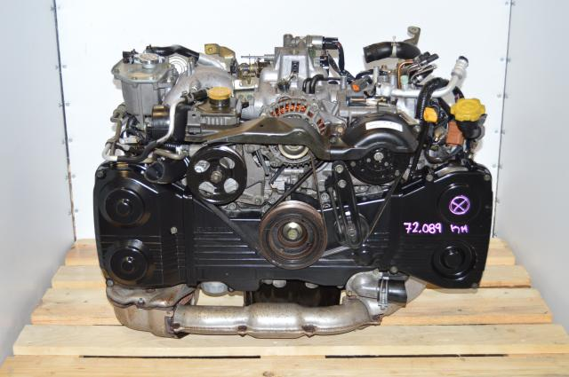 JDM WRX EJ205 Engine Swap with TD04 Turbocharger For Sale as Long Block