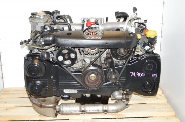 JDM Impreza WRX Turbo EJ205 2.0L DOHC AVCS Engine Swap For Sale