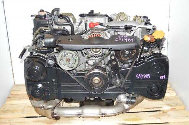 Subaru Impreza WRX 2002-2005 EJ205 Turbo Engine Package with TD04 Turbo