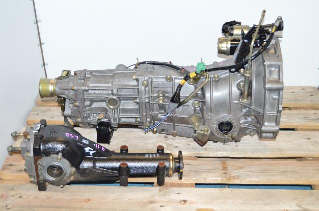 JDM Push-Type 2008-2009 WRX Impreza 5MT Manual Transmission 4.11 Rear LSD Differential Package