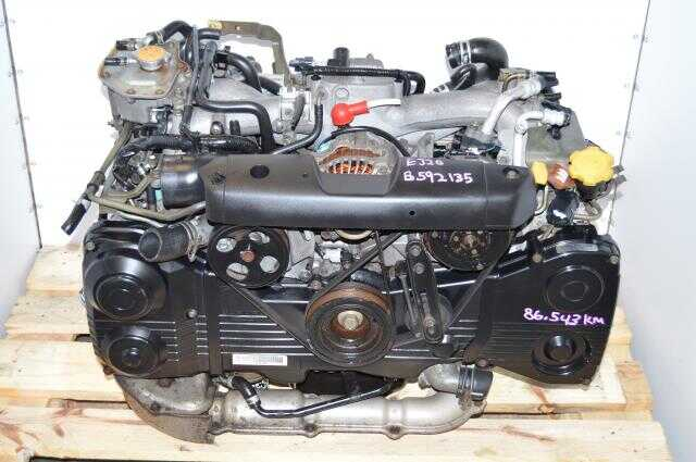 JDM Subaru EJ205 AVCS Engine Swap 2.0L For Sale with TF035 Turbocharger