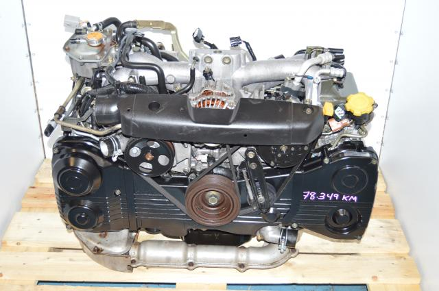 JDM EJ205 Turbo WRX 2002-2005 AVCS DOHC Engine Package For Sale