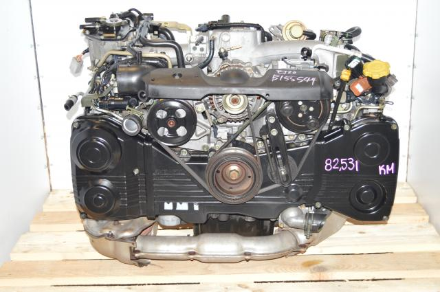 Subaru EJ205 DOHC 2.0L AVCS 2002-2005 Direct Replacement Turbocharged Engine For Sale with TD04