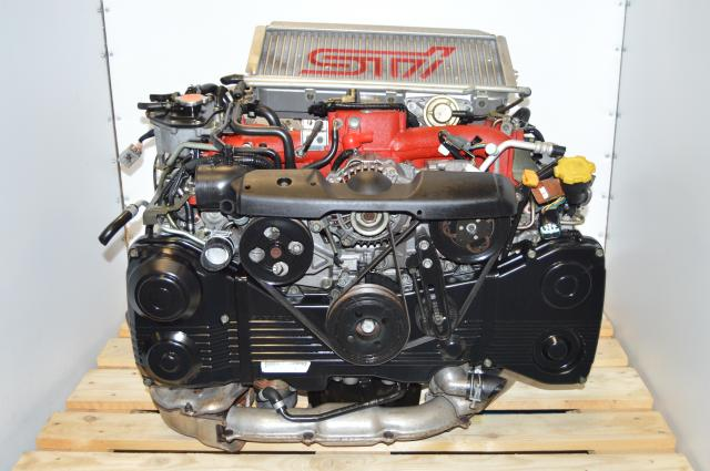 JDM STi 2002-2007 Version 7 EJ207 2.0L DOHC AVCS Motor Package with VF30 Single Scroll Turbocharger