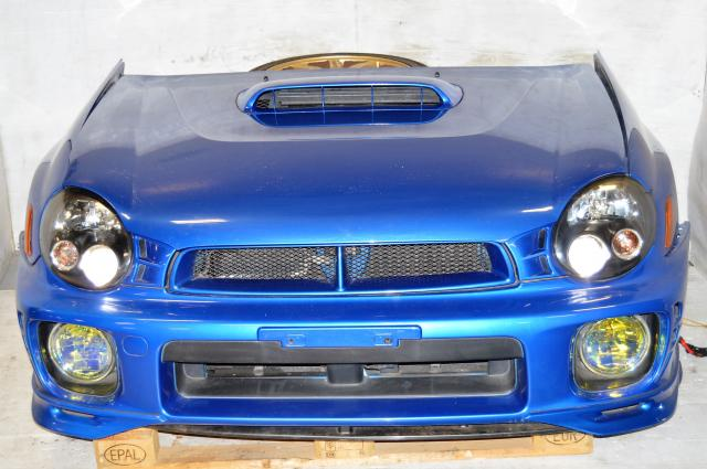 Subaru Version 7 Front End Conversion with Front Bumper, Grille, HID Headlights, JDM Foglights & Radiator Support