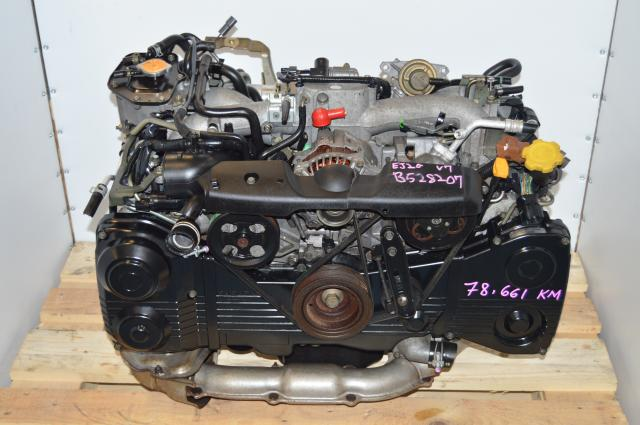 Impreza WRX Turbocharged EJ205 AVCS DOHC 2.0L Engine Package Swap For Sale