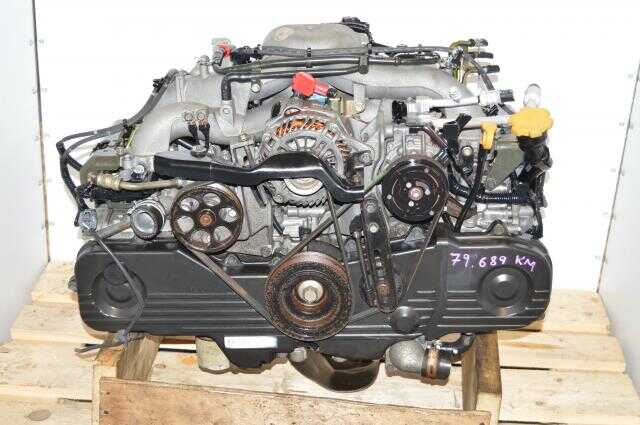 JDM Forester 00-03 EJ201 Replacment NA Motor for EJ251 2.5L Engine