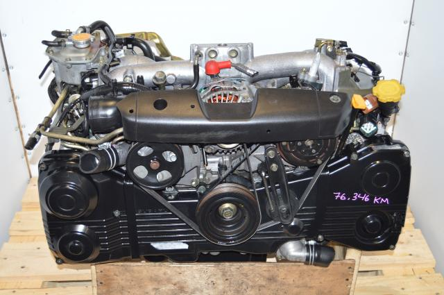Used Subaru WRX 2002-2005 EJ205 Turbo Replacement Engine Package For Sale