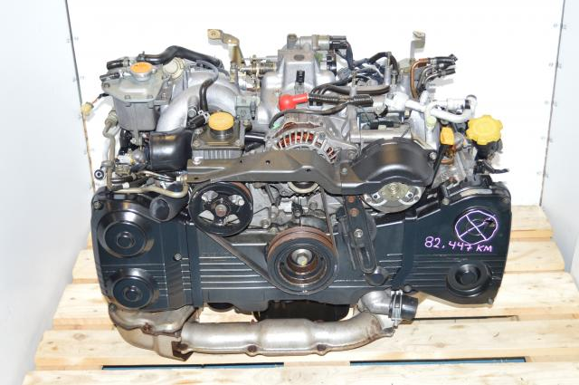 used JDM Impreza WRX 02-05 EJ20 Turbo Non AVCS  2.0L DOHC Engine Swap For Sale GD