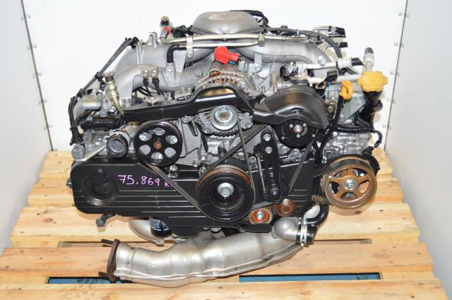 used JDM Subaru Impreza 2004 RS / Forester 00-03 2.0L Replacement Long Block Swap For Sale