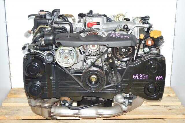 Used Subaru EJ205 TD04 Turbocharged Engine For Sale, JDM DOHC AVCS 2.0L Motor Swap