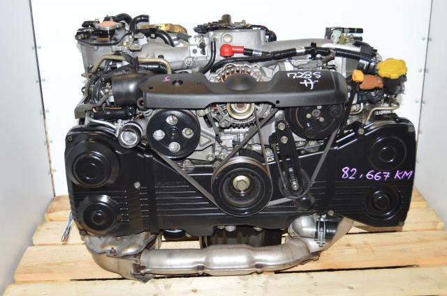 WRX 2002-2005 Subaru EJ205 2.0L AVCS DOHC TD04 Turbocharged Motor Swap For Sale