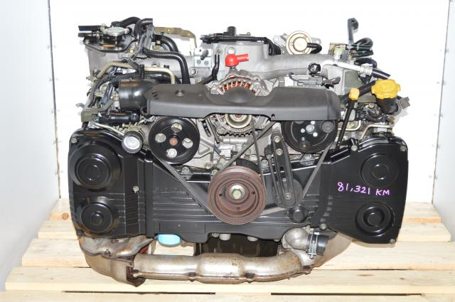 Subaru WRX 2002-2005 EJ205 USDM Compatible TD04 Turbocharged Engine Swap with AVCS