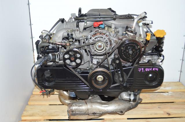 Subaru Impreza RS 2004 Replacement 2.0L Motor Package for NA USDM 2.5L EJ253 Engine For Sale
