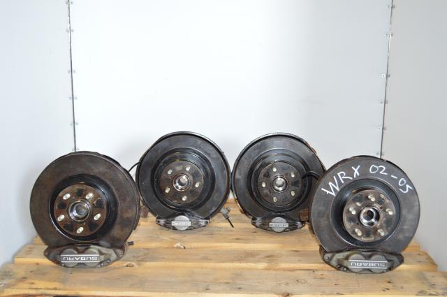 Used Impreza 2002-2007 WRX 5x100 4/2Pot Brake Package
