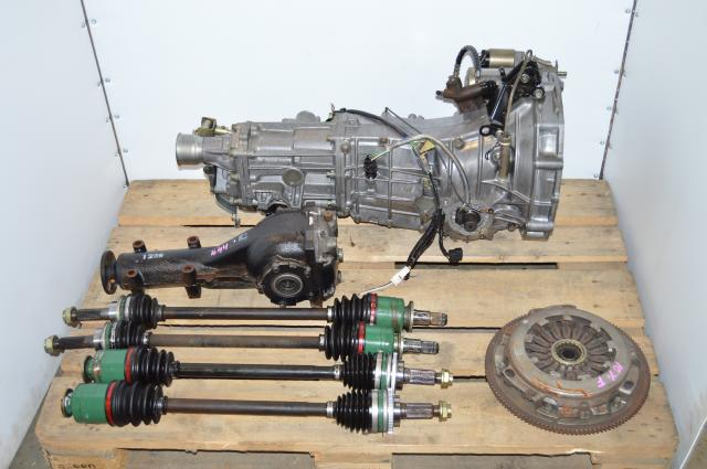 Subaru Impreza WRX GD 2002-2005 5 Speed Manual Transmission Swap For Sale with Rear Differential , Axles, Starter, Pressure Plate & Flywheel