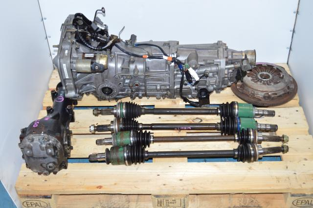 JDM WRX 2002-2005 5-Speed Transmission Package Replacement For Sale with 4.444 Rear Differential