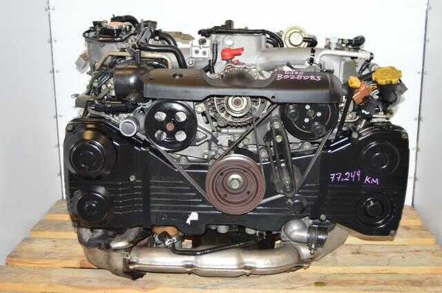 JDM Subaru WRX EJ205 TD04 Replacement Engine with AVCS