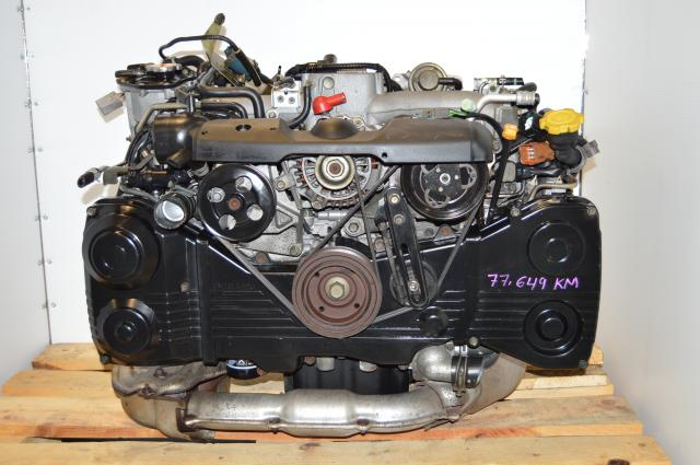 Used Subaru WRX EJ205 TD04 Turbocharged Engine For Sale, JDM DOHC AVCS 2.0L Motor Swap