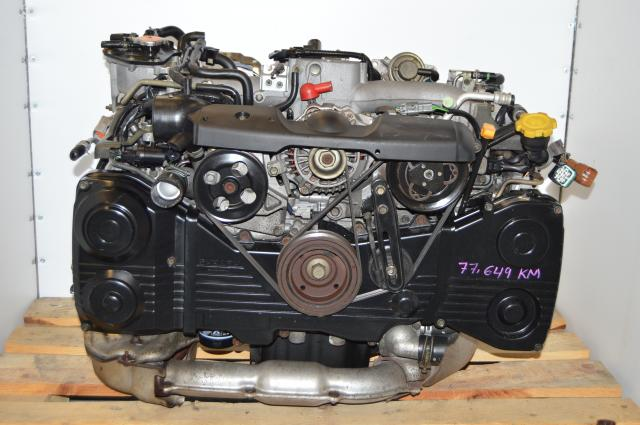 Subaru 2002-2005 WRX 2.0L TD04 Turbocharged EJ205 DOHC Engine Swap For Sale