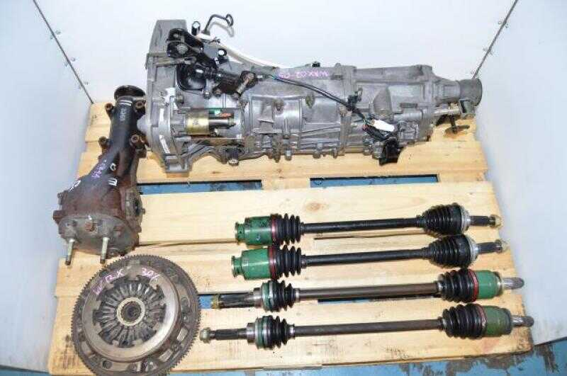 Used Subaru 5 Speed WRX TY754VBBAA turbo transmission, replacement for TY754VV5AA