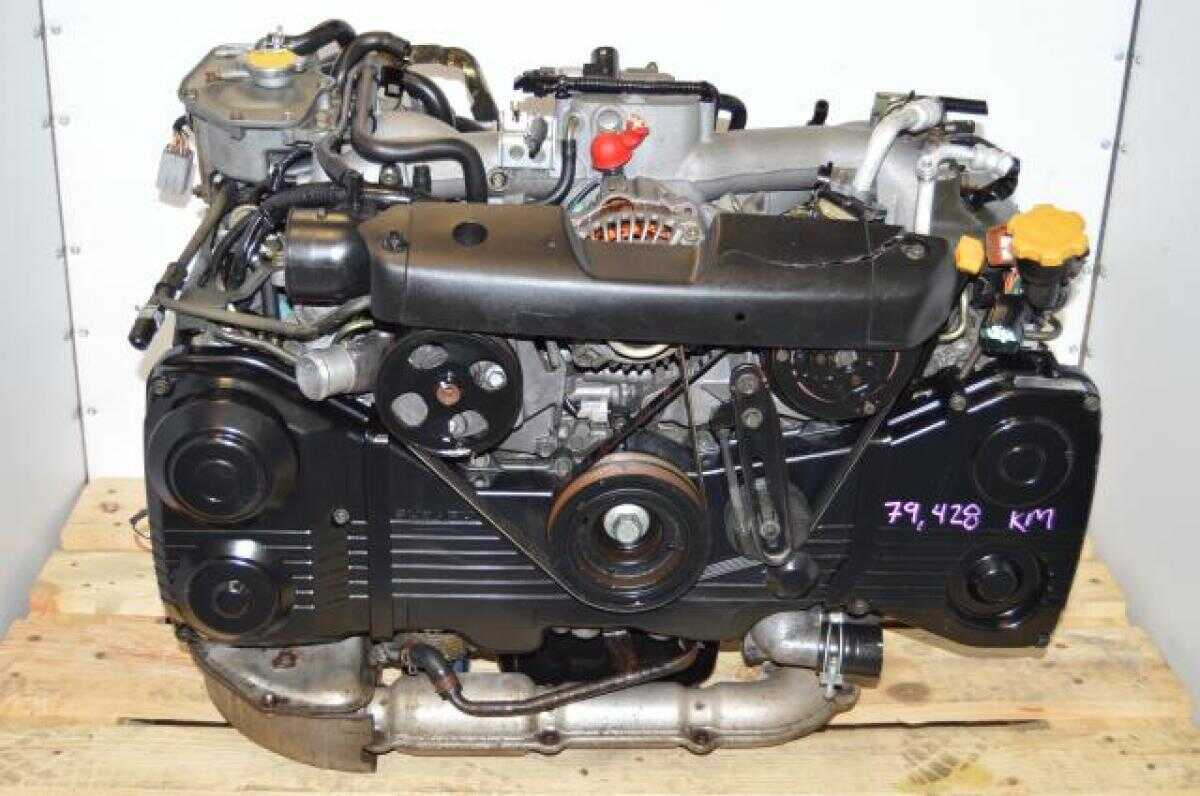 JDM Subaru DOHC 2.0L TF035 Tubro EJ205 AVCS Motor Package For Sale