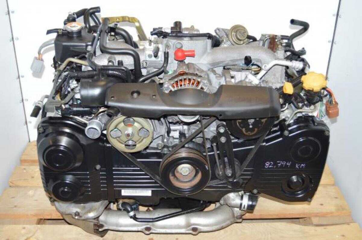 Subaru WRX 02-05 TD04 Turbo AVCS EJ205 2.0L Quad Cam Engine
