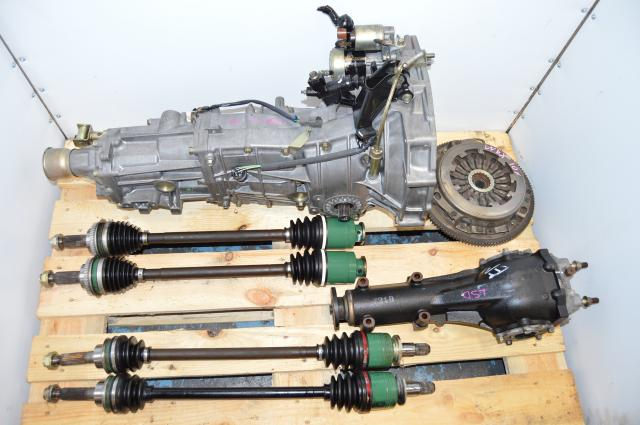 Subaru WRX 02-05 4.11 LSD 5 Speed Manual Transmission Swap with 4 Corner Axles