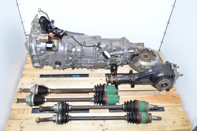 Subaru WRX 5-Speed Manual Transmission with LSD 4.11 Differential & Axles For Sale