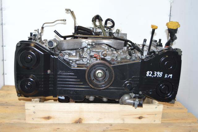 JDM Subaru EJ20 Turbo 2.0L Quad Cam Motor Long Block For Sale