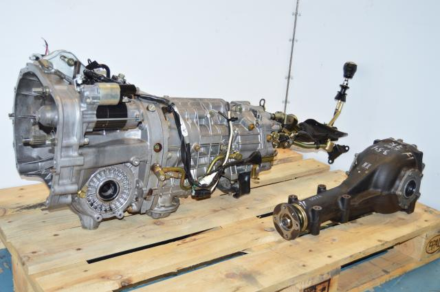 Subaru Version 9 STi 02-07 Complete DCCD TY856WB7KA Transmission Swap with Rear 3.54 R180 Differential
