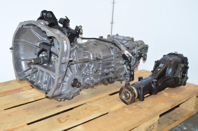 Used Subaru Impreza 96-98 5 Speed Manual Transmission Swap with 4.11 LSD