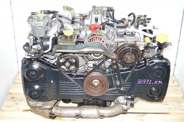 JDM EJ205 Direct Replacement Engine For WRX 2002-2005 with TD04 Turbo