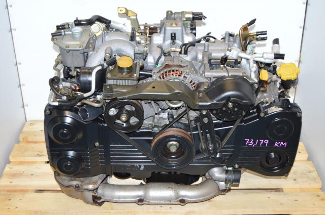 JDM EJ205 WRX 2002-2005 Engine Replacement As Long Block For Sale with TD04 Turbocharger