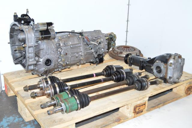 JDM SUbaru WRX 2006-2007 GD Push Type Transmission 5 Speed Replacement For Sale
