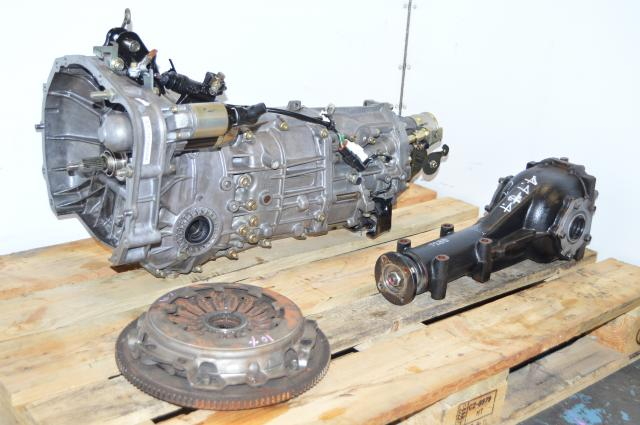 USDM Subaru Forester 2.5L 2004-2005 XT 5-Speed Manual Transmission AWD & Rear Differential For Sale