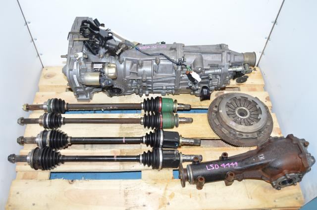 Subaru WRX 2002-2005 GDA GDB 5 Speed Manual 4.444 Complete Transmission Swap with Axles