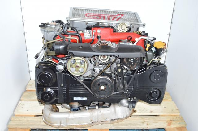 JDM 2002-2007 STi Version 8 Twin Scroll VF37 Turbocharged AVCS DOHC Engine Swap For Sale