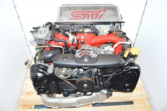 Used Subaru Version 8 STi VF37 Turbocharged Twin Scroll 2.0L Engine Package For Sale