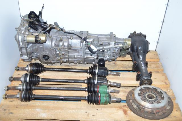 Subaru WRX 2002-2005 5 Speed Transmission Replacement For USDM TY754VV4AA, JDM 4.444 5MT TY755VB4BA For Sale
